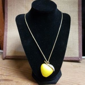 Jewelry - Vintage YCLM Apple Necklace Snow White
